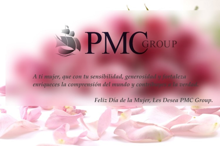 PMC Group and all its companies, congratulate all women on International Women's Day.