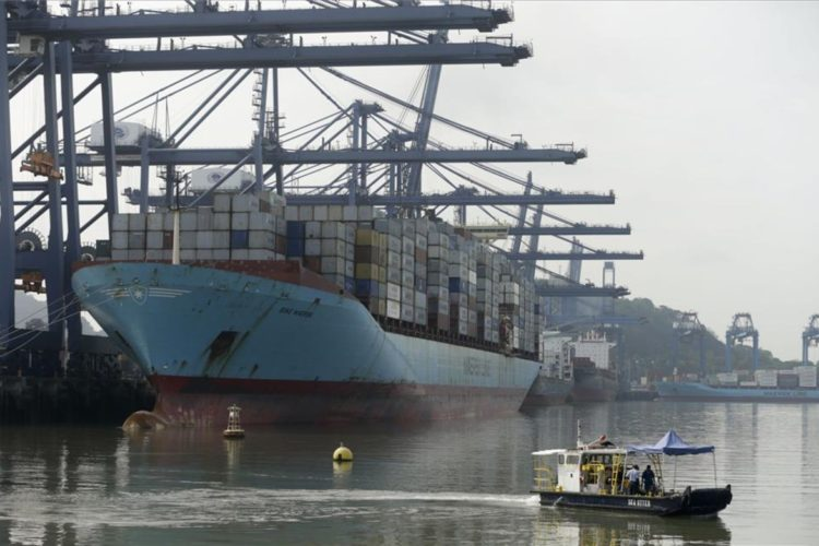 The works of the Panama Canal come to an end