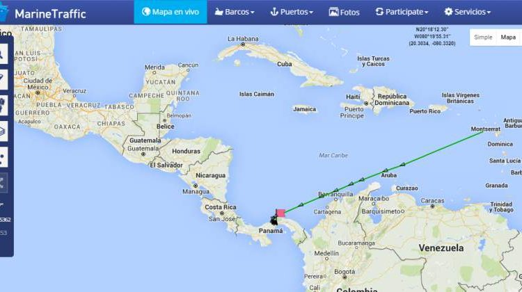 Cosco Shipping is already en route Panama Canal